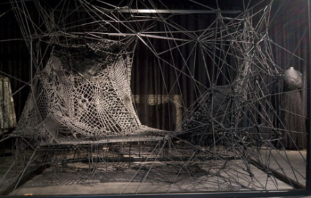 Lace as structural solution