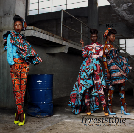 Vlisco Wax Resist Fabrics