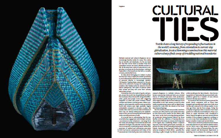 Cultural Threads in Crafts magazine