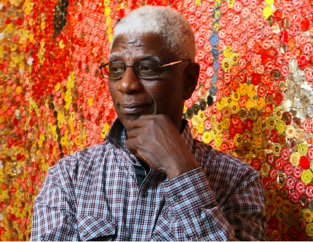 El Anatsui: Forging Fabrics of Tin