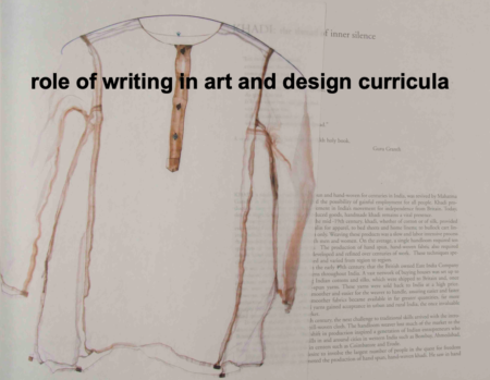 The Future of Written Communication in Art & Design Education